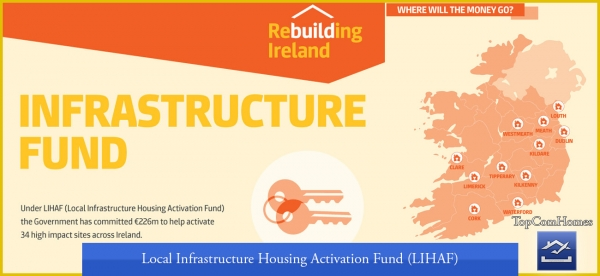 local infrastructure housing activation fund lihaf Ireland Dublin Cork - Topcomhomes