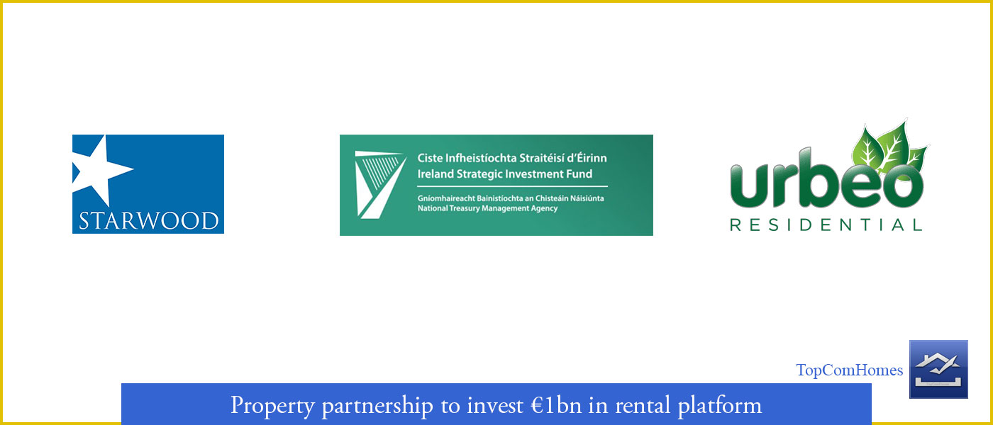 Property partnership investment in rental platform in Ireland