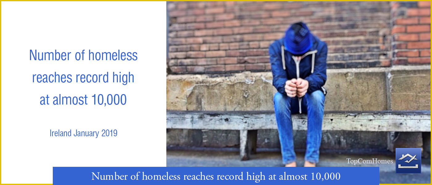 Number of homeless increase in Ireland - Topcomhomes