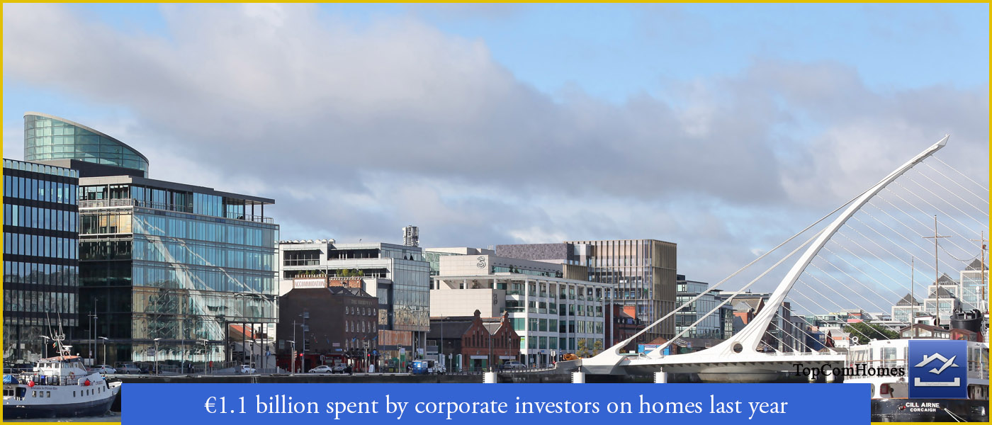 Corporate investors spending on residential homes - Topcomhomes