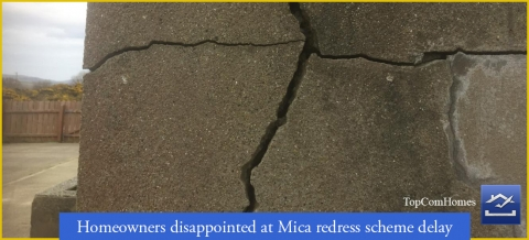 Homeowners disappointed at Mica redress scheme delay Ireland