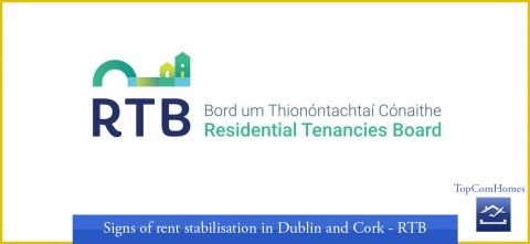 Signs of rent stabilisation in Dublin and Cork - RTB - Topcomhomes