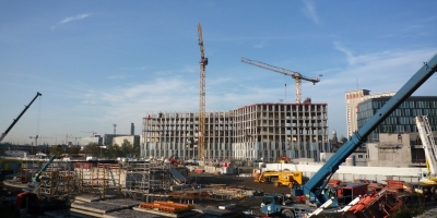 Ireland's Construction sector grows strongly again in October 2015