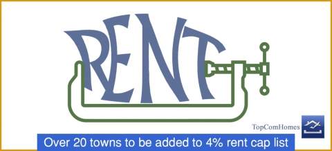Over 20 towns to be added to 4% rent cap list
