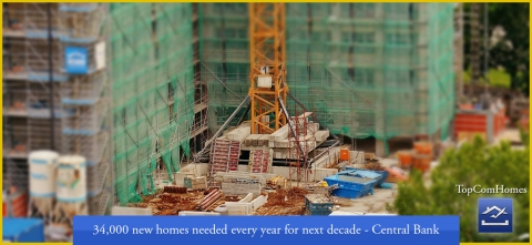 34000 new homes needed every year for next decade Central Bank Ireland - Topcomhomes