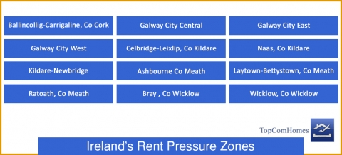Ireland's Rent Pressure Zones.